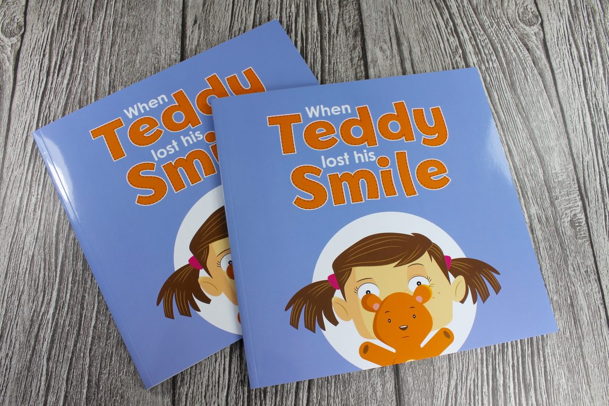 Facial Palsy Thread Sewn Children's Book